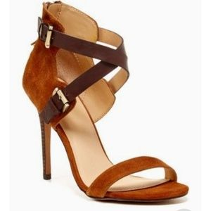 Joe's Jeans brown sandal heels